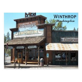 Winthrop, Washington Travel Photo Postcard