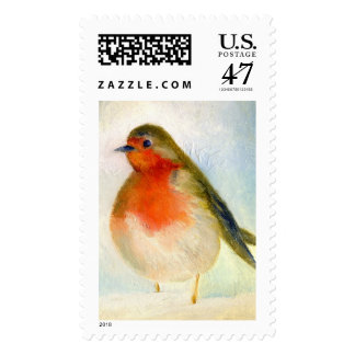 Wintry 2011 postage stamp