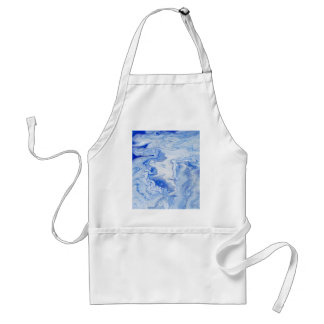 Wintry Fairy Land Adult Apron