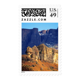 Wintry Mountain View, Royal Natal National Park Stamps