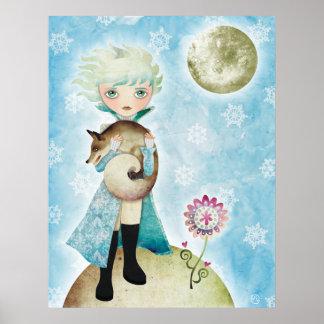 Wintry Prince Canvas Print