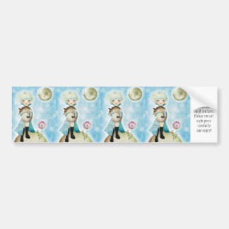 Wintry Prince Vinyl Stickers Car Bumper Sticker