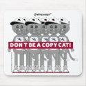 Winzo Raps Copy Cat Mouse Pad