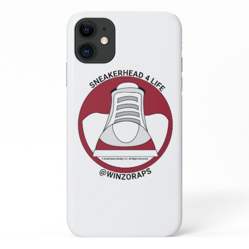 Winzo Raps Sneakerhead4Life iPhone 11 Case
