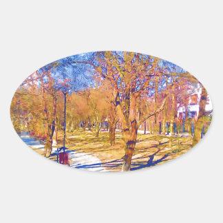 wiosna-1-33 oval sticker