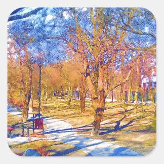 wiosna-1-33 square sticker