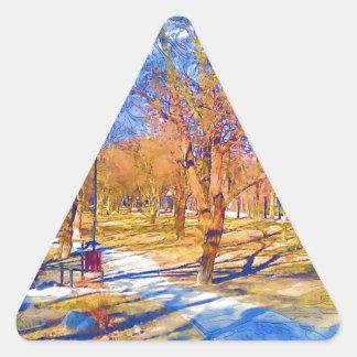 wiosna-1-33 triangle sticker