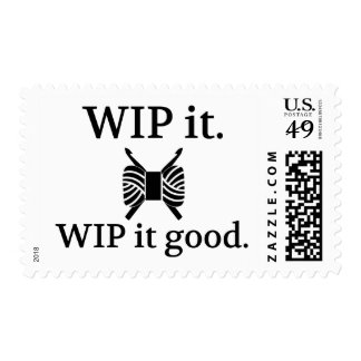 WIP It Good - Crochet {Light} Postage Stamp