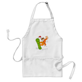 Wipe Out Adult Apron