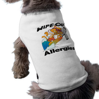 Wipe Out Allergies Dog T-shirt