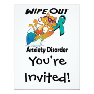 Wipe Out Anxiety Disorder Card