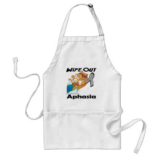 Wipe Out Aphasia Aprons