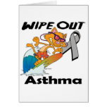 Wipe Out Asthma Greeting Card