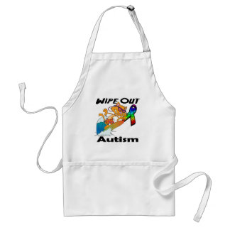 Wipe Out Autism Apron