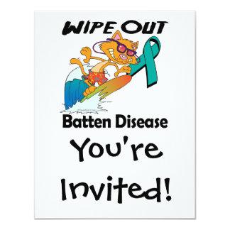 Wipe Out Batten Disease Invitation