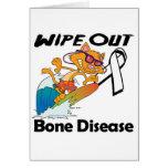 Wipe Out Bone Disease Greeting Card