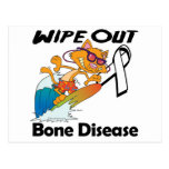 Wipe Out Bone Disease Postcard