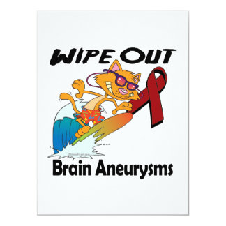 Wipe Out Brain Aneurysms Announcement