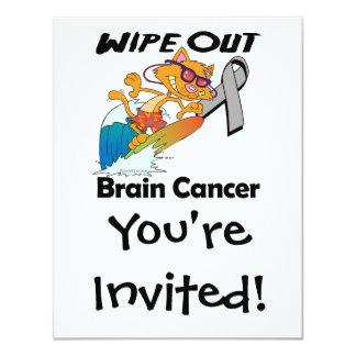 Wipe Out Brain Cancer Invitation