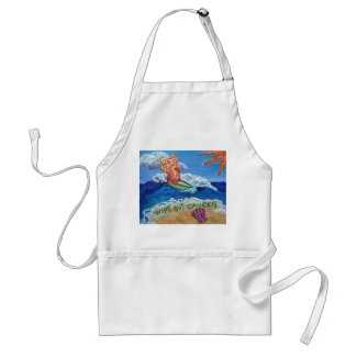 Wipe Out Cancer Angel Apron