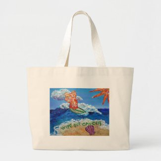 Wipe Out Cancer Angel Bag