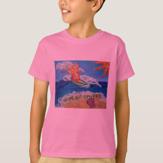 Wipe Out Cancer Angel T-Shirt