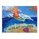 Wipe Out Cancer Cancer Postcard