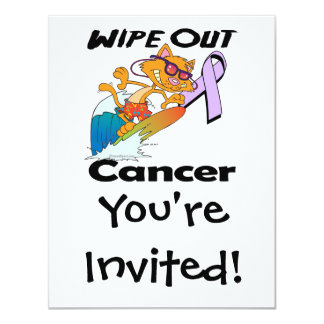 Wipe Out Cancer Card