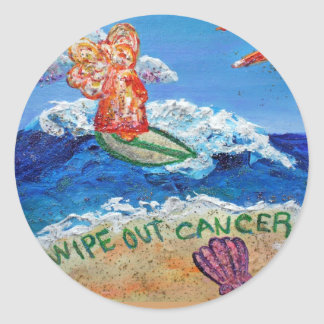 Wipe Out Cancer Sticker