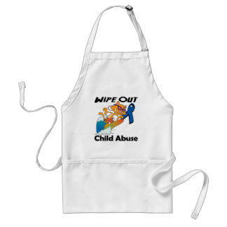 Wipe Out Child Abuse Aprons