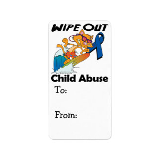 Wipe Out Child Abuse Address Label