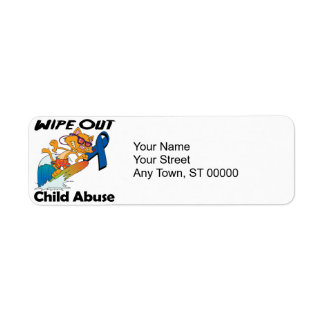 Wipe Out Child Abuse Return Address Label