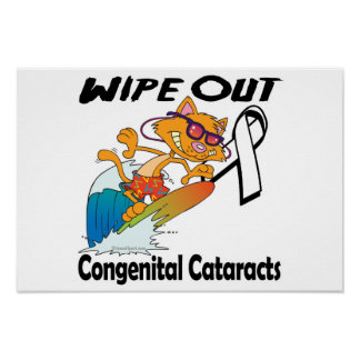 Wipe Out Congenital Cataracts Poster