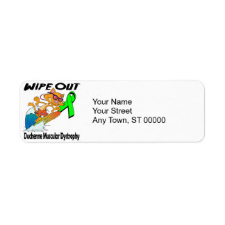 Wipe Out Duchenne Muscular Dystrophy Label