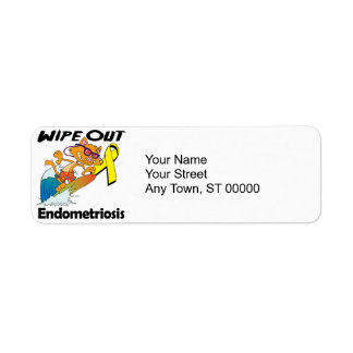 Wipe Out Endometriosis Label