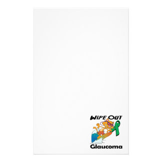 Wipe Out Glaucoma Stationery