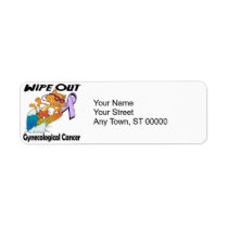Wipe Out Gynecological Cancer Label