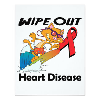 Wipe Out Heart Disease Personalized Announcements