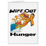 Wipe Out Hunger Greeting Card