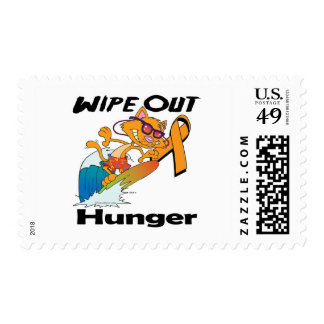 Wipe Out Hunger Postage