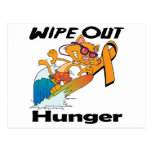 Wipe Out Hunger Postcard