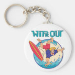 Wipe Out Keychain