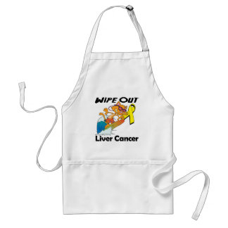 Wipe Out Liver Cancer Aprons
