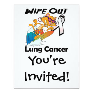 Wipe Out Lung Cancer Card