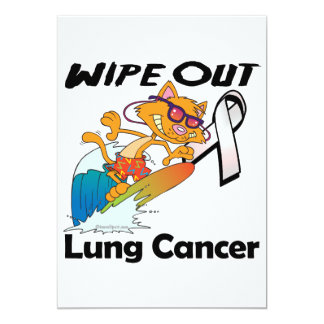 Wipe Out Lung Cancer Custom Announcement