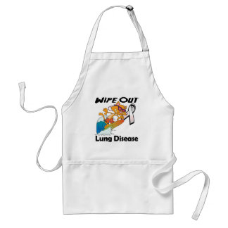 Wipe Out Lung Disease Apron