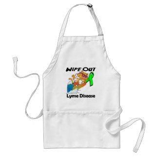 Wipe Out Lyme Disease Apron