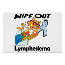 Wipe Out Lymphedema Poster
