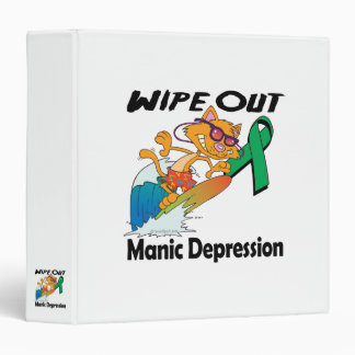 Wipe Out Manic Depression Vinyl Binders