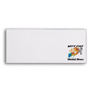 Wipe Out Mental Illness Envelopes
